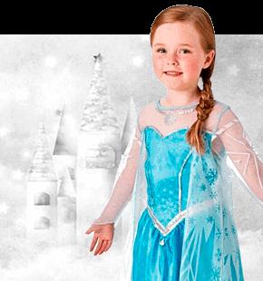 Strój Elsy Przebrania z Krainy Lodu kostiumy Frozen