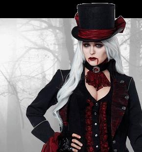 Przebrania na Halloween Damskie