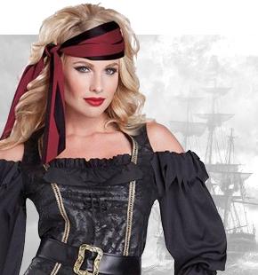 Przebrania Piratek Damskie