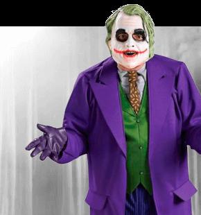 Stroj Joker stroje fimowe męskie przebrania dla dorosłych