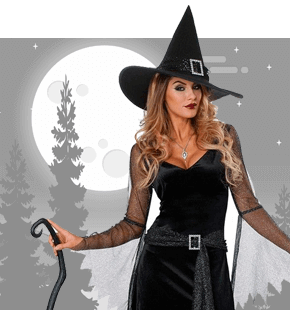 Strój Czarownicy Halloween