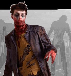 Stroje Zombie Halloween