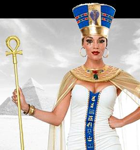Strój Kleopatry Przebrania Starożytne Kostiumy Egipskie