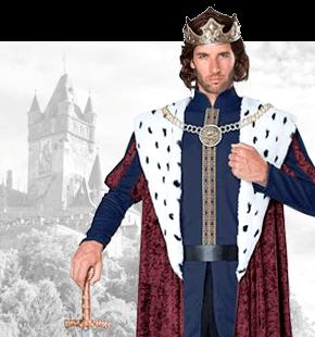 Strój Króla Przebrania Historyczne