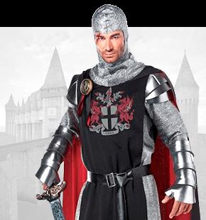 Strój Rycerza Średniowiecznego Przebrania Historyczne