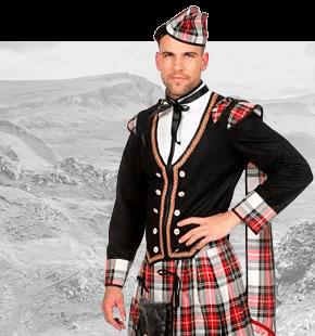 Strój Szkota Przebrania Szkockie