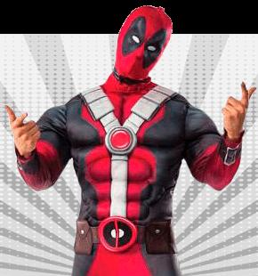 Strój Superbohatera dla Mężczyzny Stroje Superbohaterów dla Dorosłych