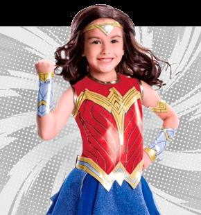 Strój Superbohaterki dla Dziewczynki Stroje Superbohaterow dla Dzieci